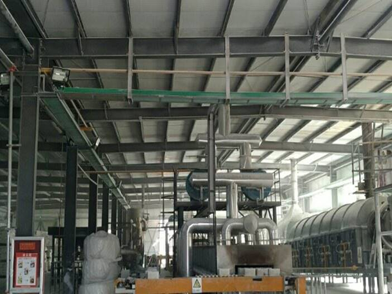 Magnesium oxide calcination production line